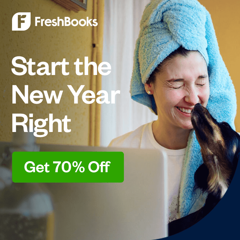 FreshBooks is one of the easiest online account systems you can use in your salon or spa