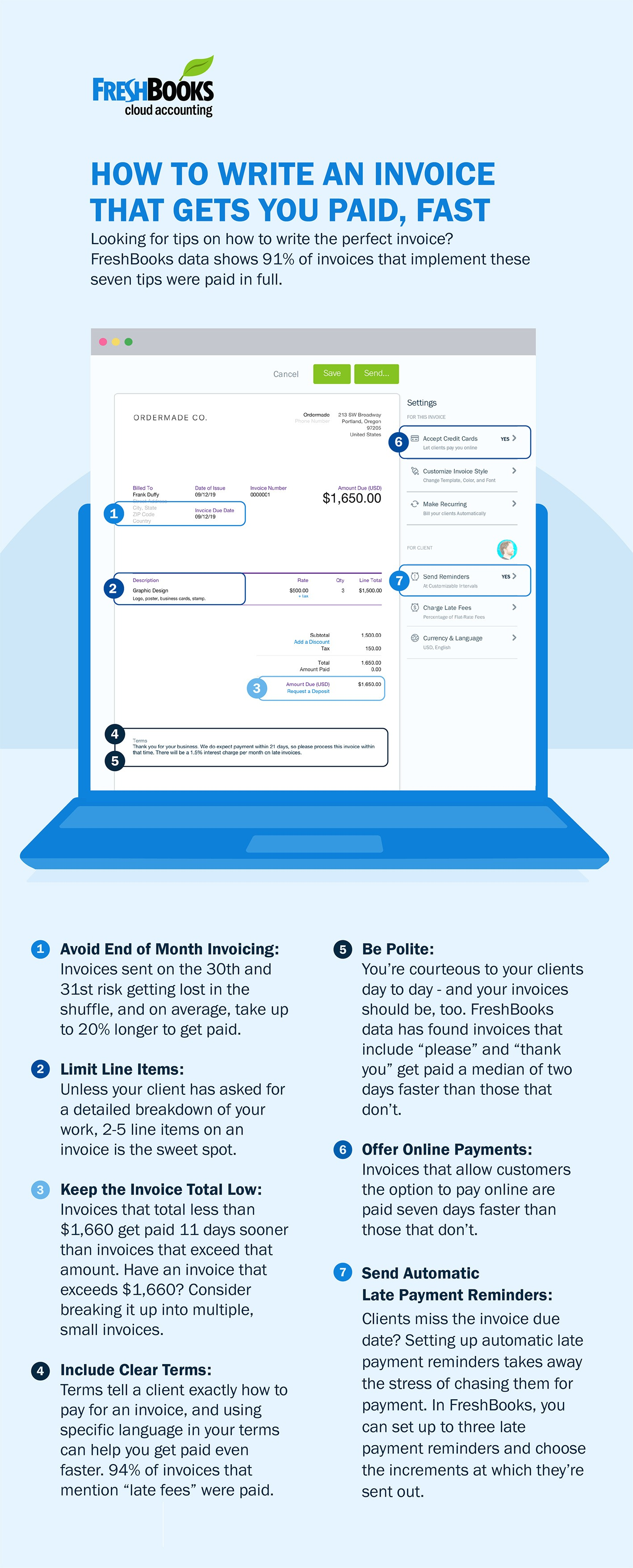 Infographic: Write an Invoice That Gets You Paid