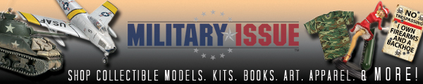 Shop Collectible Models, Kits, Books, Art, Apparel, & MORE!