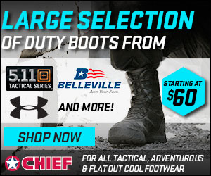 Tactical Duty Boots from CHIEF Supply