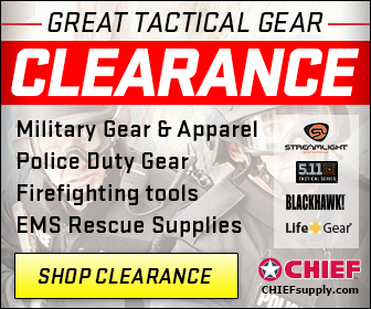 Tactical GEAR CLEARANCE section