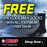 COOLMAX SOCKS Free w/ Footwear over $49.99