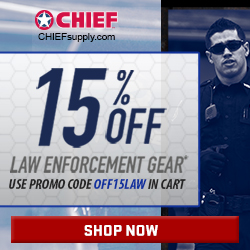 15% Off Law Enforcement Gear @Chief