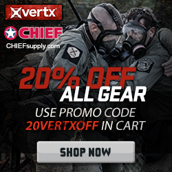 Vertx Tactical 20% off @Chief