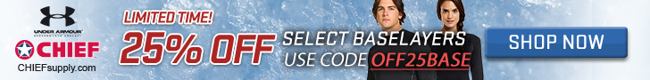 25% Off Base Layers on Select Styles of Under Armour