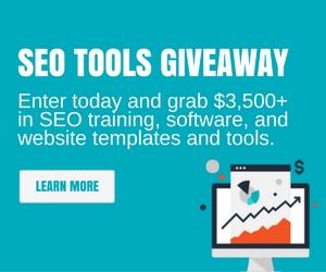 Massive SEO Tools Giveaway
