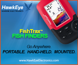 Hawkeye Marine Electronics FishTrax Fish Finders - Go Anywhere. Portable. Handheld. Mounted.