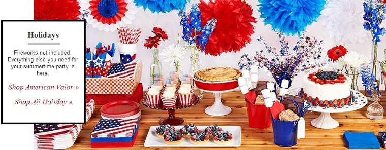 4th of July Party Supplies at Celebrate Express