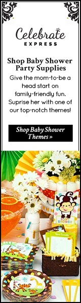 Celebrate Express Baby Shower Party Supplies