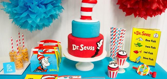 dr seuss birthday party Dr. Seuss Birthday Party Ideas   An Alli Event dr seuss birthday party