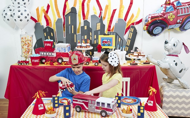 Fireman Birthday Party Ideas The Jenny Evolution