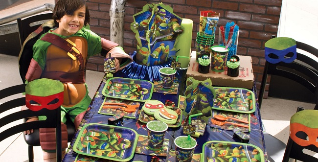 TMNT Party Supplies from Birthday Express