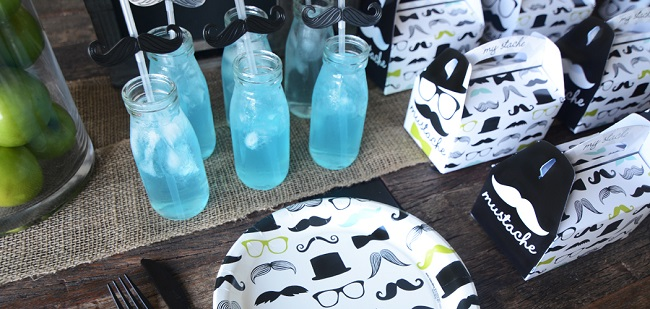 Mustache Man Party by Birthday Express