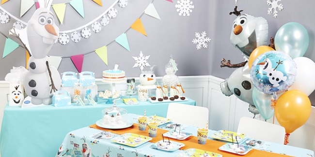 olaf birthday party ideas