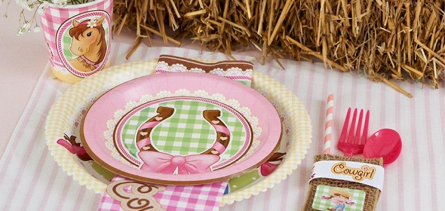 Pink Cowgirl Party Supplies at Birthday Express