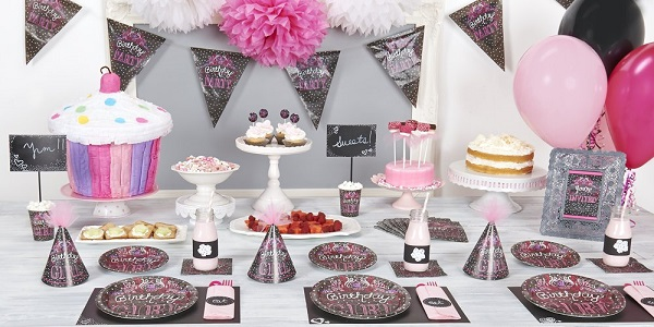Sweeten Up The Celebration With New Birthday Sweets Party Theme From BirthdayExpress This Chalkboard Inspired Features A Black Background