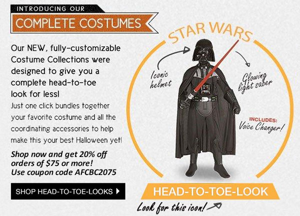 BuyCostumes Head-to-Toe Halloween Costumes image