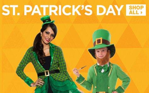 Shop at BuyCostumes.com for St.Patrick's Day Costume Ideas