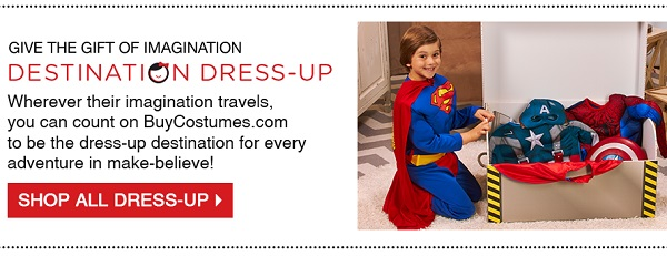 BuyCostumes - kids dress-up costumes