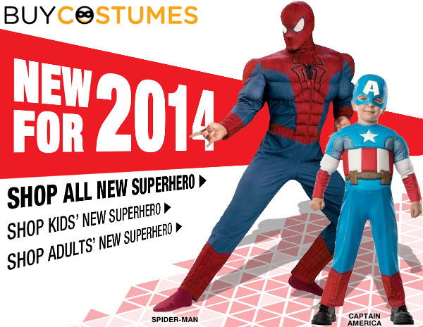 Superhero Savings on Halloween...