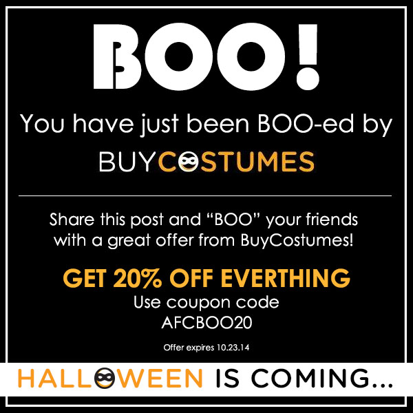 You`ve Just Been BOO-ed by Buy...