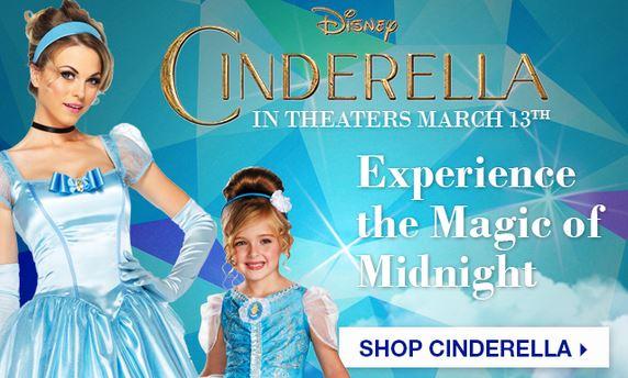 Cinderella costumes at BuyCostumes