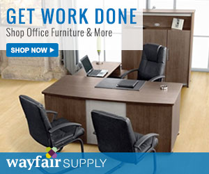 Take 10% off office furniture and more (new customers)