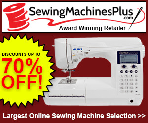SewingMachinesPlus discount code