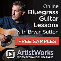 Artist Works Bluegrass Guitar