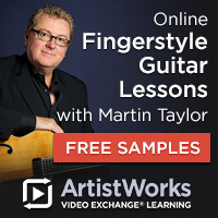 Online fingerstyle guitar lessons martin taylor