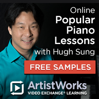 Online popular piano lessons hugh sung