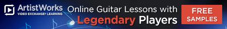 free guitar school lesson samples artistworks.com