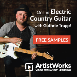 guthrie trapp electric guitar lessons