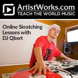 dj qbert at artistworks