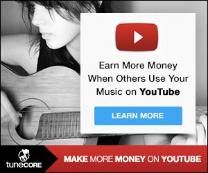 make money on youtube with your music, sell your music on youtube, youtube money for music