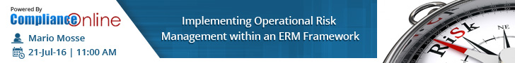Implementing Operational Risk Management within an ERM Framework