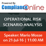 Operational Risk Scenario Analysis by Compliance Online