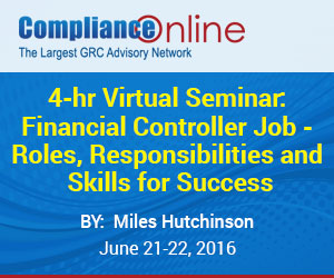 4-hr Virtual Seminar: Financial Controller Job - Roles, Responsibilities and Skills for Success