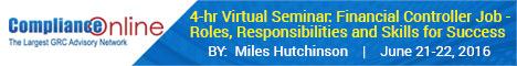 4-hr Virtual Seminar: Financial Controller Job - Roles, Responsibilities and Skills for Success