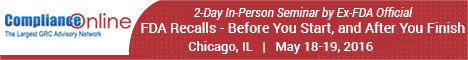 FDA Recalls - 2-Day In-Person Seminar by Ex-FDA Official
