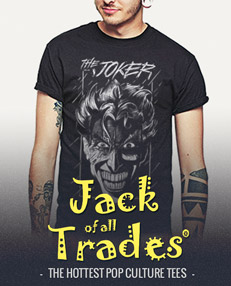Jack of all Trades Clothing - The Hottest Pop Culture Tees