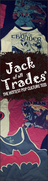 Jack of all Trades - The Hottest Pop Culture Tees