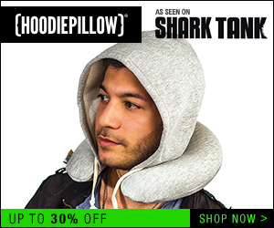 HoodiePillow, As Seen On Shark Tank!