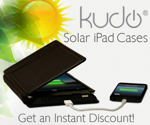 Solar and Battery Cases for iPad