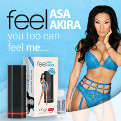 Feel and Touch Asa Akira with Kiiroo, Designer Teledildonics