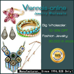 Get the best jewelry supply from Viennois and enjoy 10-18% discount