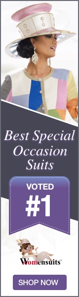 Designer dresses and suits for church or any Special Occasion.