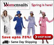 Spring is here, Save up to 75% at Womensuits.com!