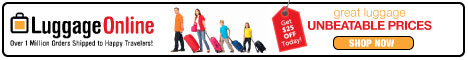 Luggage Online Coupon