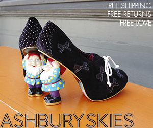Irregular Choice Shoes for Ashbury Skies